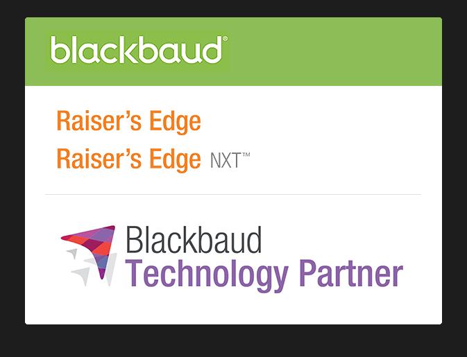 Blackbaud technology partner